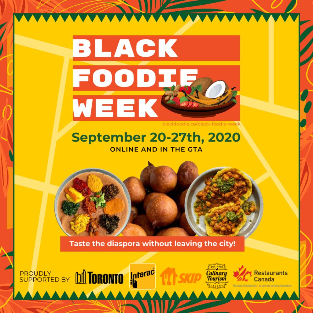 BLACK FOODIE Week Social Post