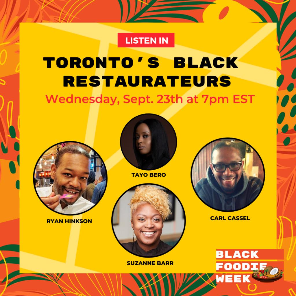BLACK FOODIE Week Social Post 2