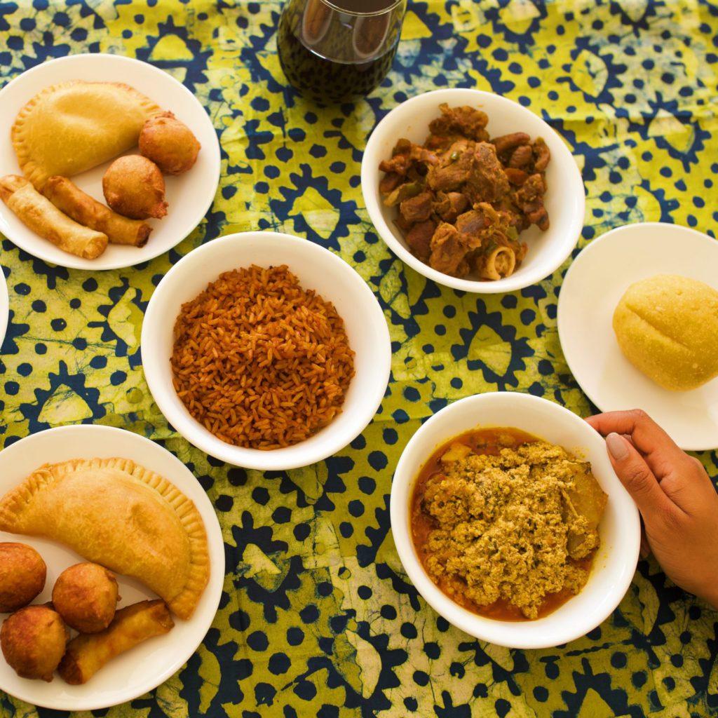 Nigerian food overlay